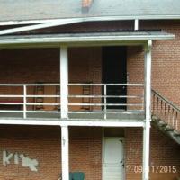 Western Porch View, Derek McSwain, 2015.